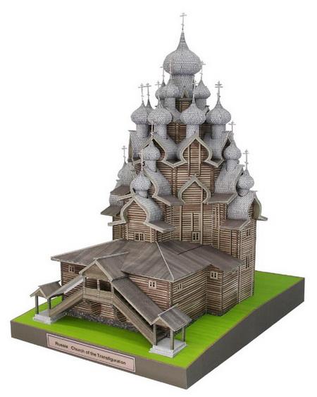 Деревянная Церковь Преображения Господня на острове Кижи