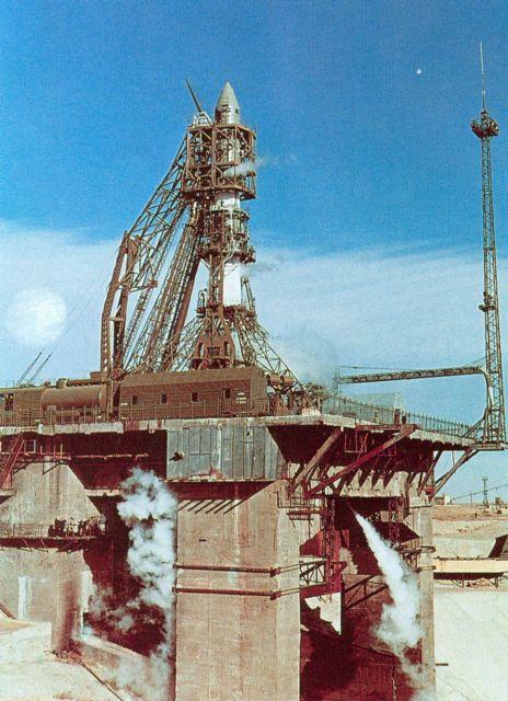 Ракета-носитель «Восход» была впервые запущена 16 ноября 1963 года