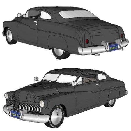 бумажные модели точные копии автомобилей