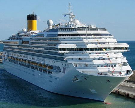 Круизный лайнер Costa Pacifica